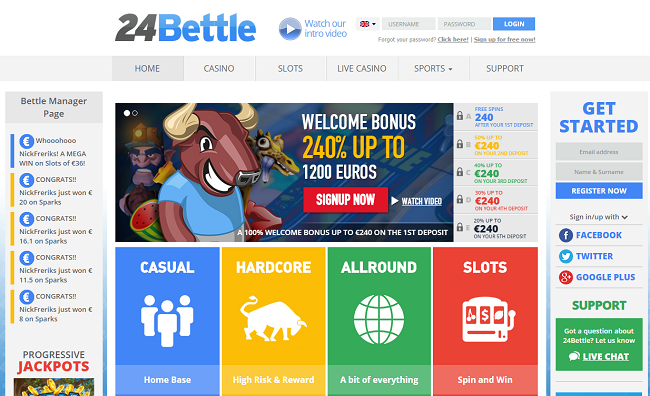 24bettle review