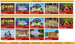 Jackpotslots zon casino