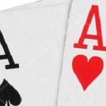 Azen en vijven tellen bij blackjack kaarten