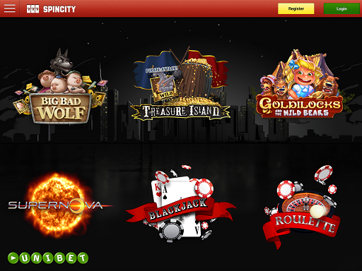 spin city casino online