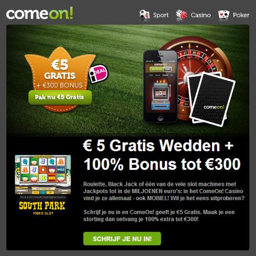 beste online casino met bonus