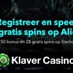 Bonus op videoslots tijdens Mei filmmaand bij Klaver Casino