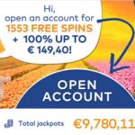 1553 gratis spins bij Fortuin Casino