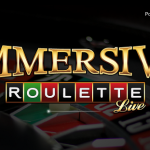 Immersive roulette met live croupiers