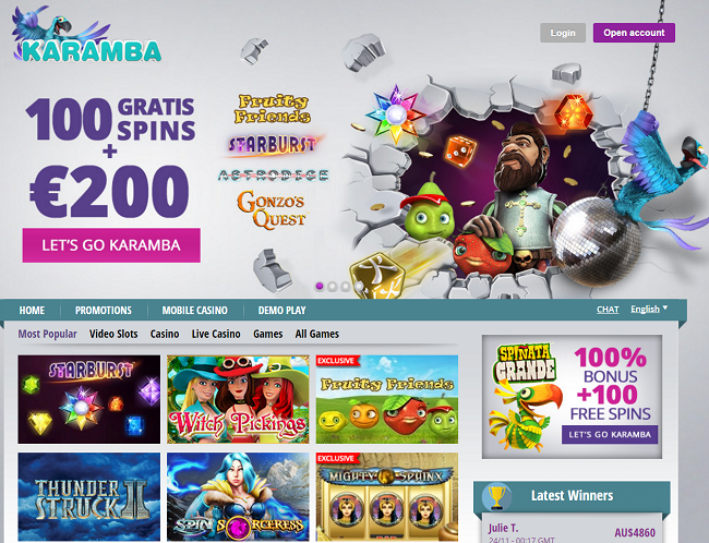 karamba online casino hot online