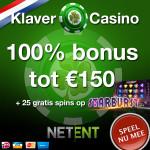 Klaver Casino bonussen met free spins en no deposit promo codes