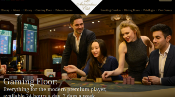 Les Ambassadeurs Club Casino in Londen