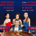 Portomaso gaming live casino vanuit Malta