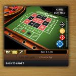 Mini roulette met 12 cijfers en zero