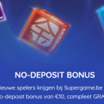 no deposit bonus van 10 euro bij Supergame