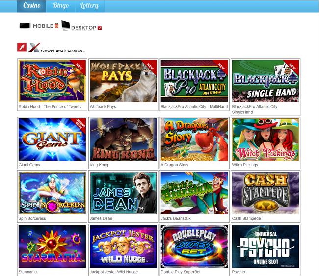 nyx gaming slots