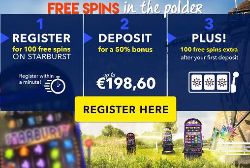 polder spins gratis