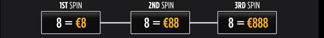 roulette bonus 888