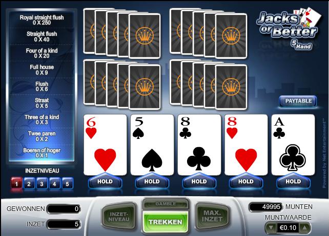 casino video poker strategy