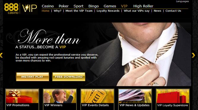 888 vip casino club